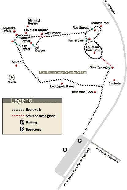 Fountain Paint Pots Map