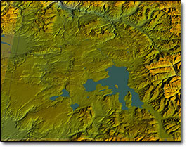 Yellowstone 3d Map