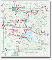 Yellowstone Official Park Map